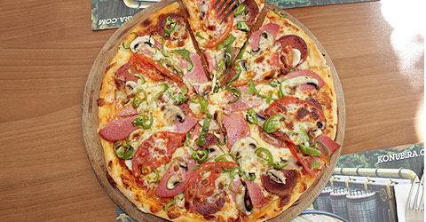 Italyan Pizzası Ve Makarnası La Rougeda Yenir Denizlihabercom