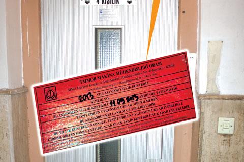 Asansör etiket renkleri