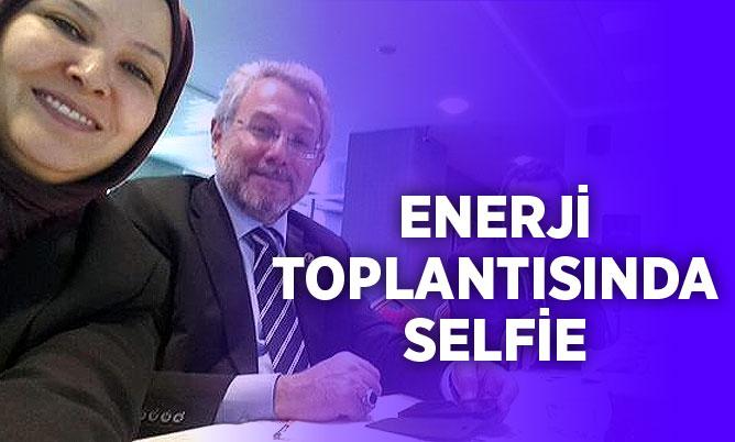 Yüksel ve Dalbudak'tan toplantı selfiesi