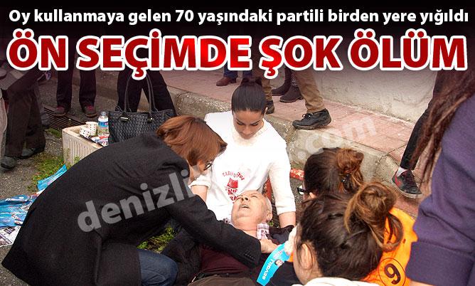 CHP'nin ön seçiminde şok ölüm!