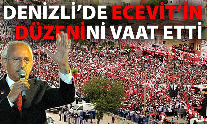 CHP Lideri Kılıçdaroğlu Denizli'de