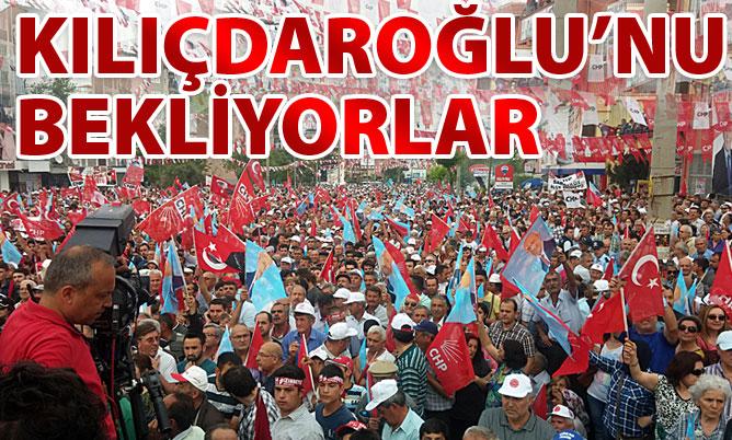 Denizli'de Kılıçdaroğlu bekleniyor