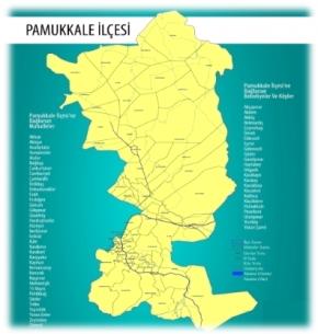 pamukkale-harita