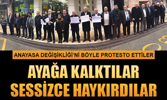 """CHP'den """"Ayağa kalkıyoruz"""" eylemi"""